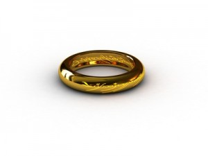 Gold ring gift
