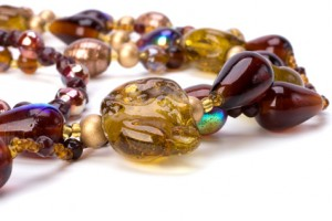 Handmade beads necklace
